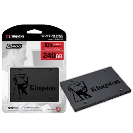 Накопитель Kingston SSD 240GB А400 SA400S37/240G {SATA3.0}, шт