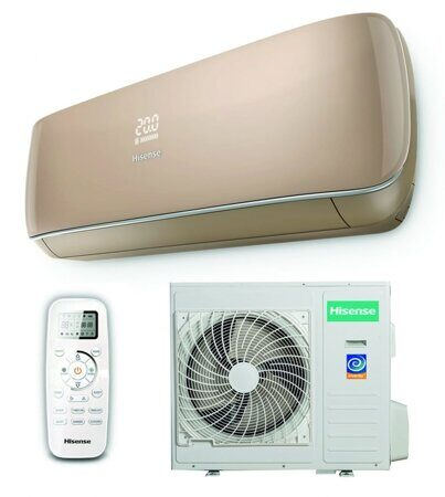 Hisense Premium CHAMPAGNE SUPER DC Inverter AS-10UR4SVETG67(C)/AS-10UR4SVETG67(C)