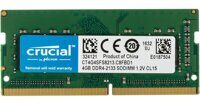 Оперативная память Crucial DDR4 SODIMM 4GB CT4G4SFS8213 {PC4-17000, 2133MHz}