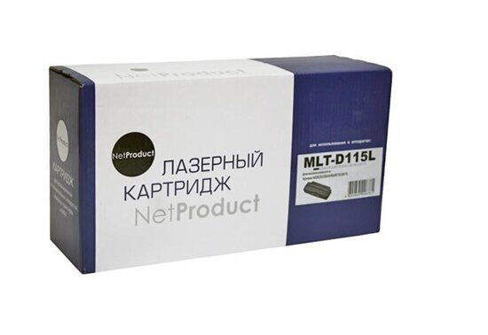 Картридж NetProduct N-MLT-D115L, Black