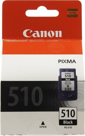 Картридж Canon PG-510Bk 2970B007 для PIXMA MP240, 260, 480, MX320, 330, черный, 220стр., шт