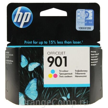 Картридж HP CC656AE №901, Color {Officejet J4524/4535/4580/4624, Color}, шт
