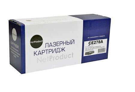 Картридж NetProduct N-CE278A, Black