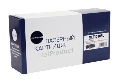 Картридж NetProduct N-MLT-D105L, Black