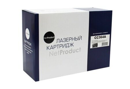 Картридж NetProduct N-CC364A, Black