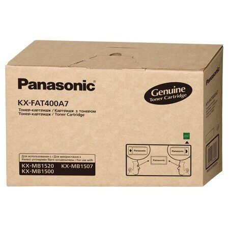 Картридж Panasonic KX-FAT400A7, Black