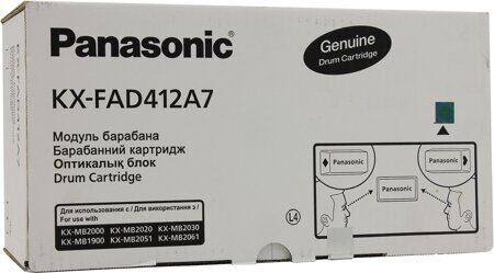 Картридж Panasonic KX-FAD412A, Black