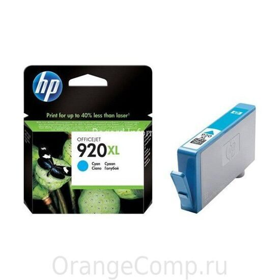 Картридж HP №920XL (CD972AE), Cyan