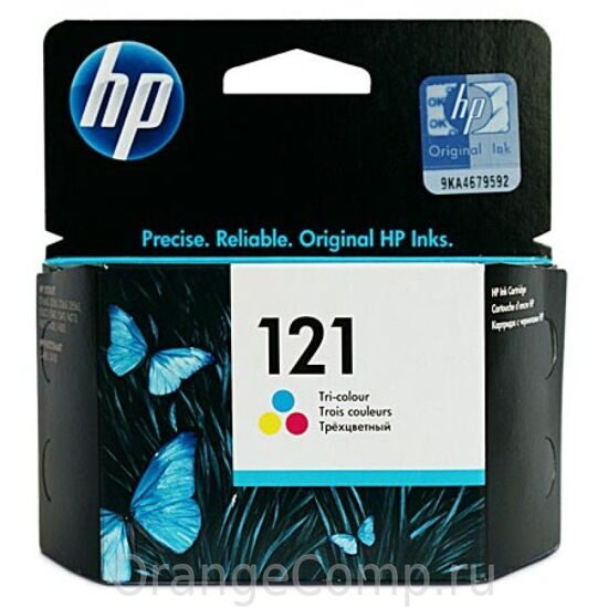 Картридж HP CC643HE №121, Color {F4283/D2563, Color}, шт