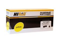 Картридж Hi-Black HB-CLT-Y407S, Yellow